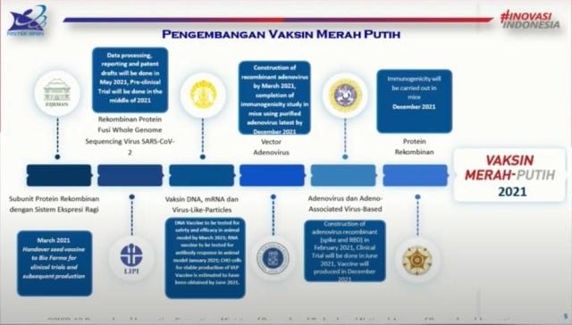 Menristek: Vaksin Merah Putih untuk 180 Juta Rakyat Indonesia, Luar Negeri Nanti (2)