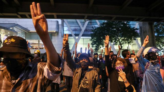 PM Thailand Akan Gunakan Segala Upaya Hukum untuk Lawan Pendemo (406412)