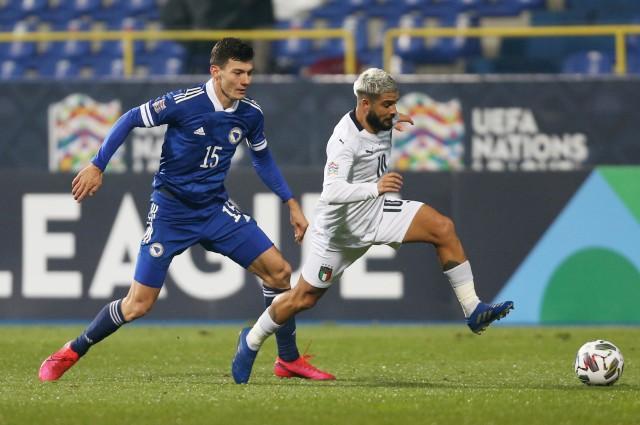 Bosnia vs Italia: Menang, Gli Azzurri Mantap Lolos ke Semifinal (99189)