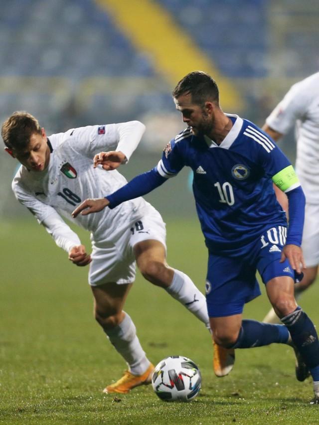 Bosnia vs Italia: Menang, Gli Azzurri Mantap Lolos ke Semifinal (99188)