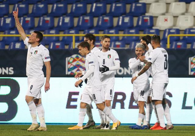 Bosnia vs Italia: Menang, Gli Azzurri Mantap Lolos ke Semifinal (99190)