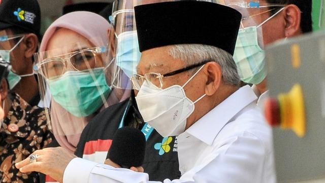 Saran Ma'aruf Amin untuk Sektor Properti yang Lesu Saat Pandemi (50948)