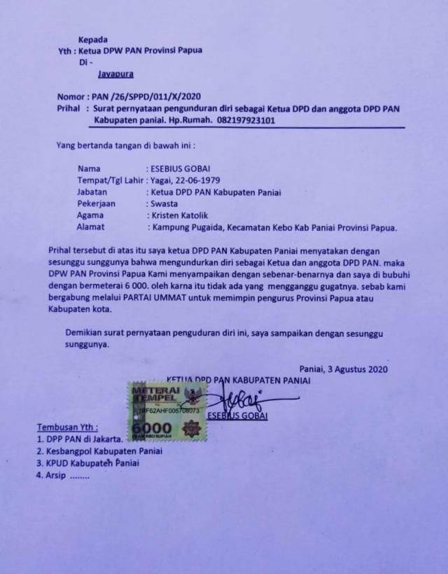 Partai Ummat: PAN Bedol Desa, Pengurus Kecamatan Banyak Pindah (581164)