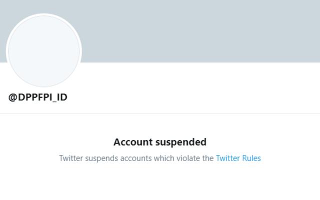 Akun Twitter FPI Kena Suspend (114541)