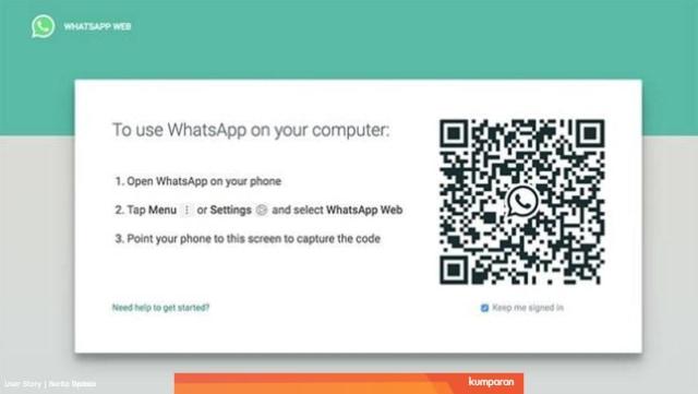 WhatsApp Web: Cara Menggunakan WA Web di PC dan Laptop Cukup Satu Kali Scan  (51662)
