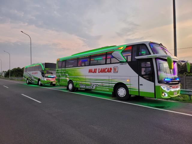 2 Bus Mercedes-Benz PO Maju Lancar Dapat Penyegaran, Apa Saja Fasilitas Barunya? (15366)