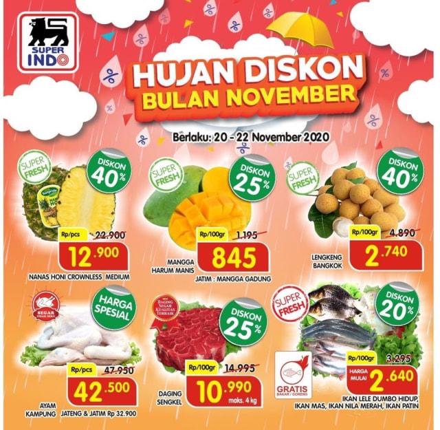 Katalog Promo Hujan Diskon Superindo 20-22 November (49476)