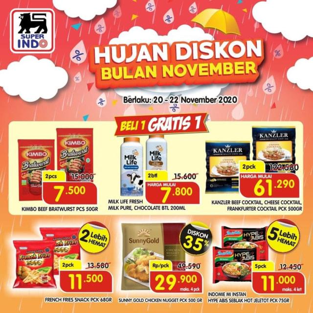 Katalog Promo Hujan Diskon Superindo 20-22 November (49477)