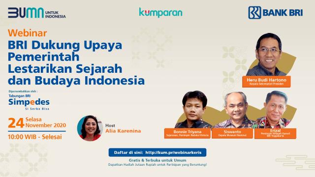 BRI Dukung Upaya Pemerintah Lestarikan Sejarah dan Budaya Indonesia (121307)