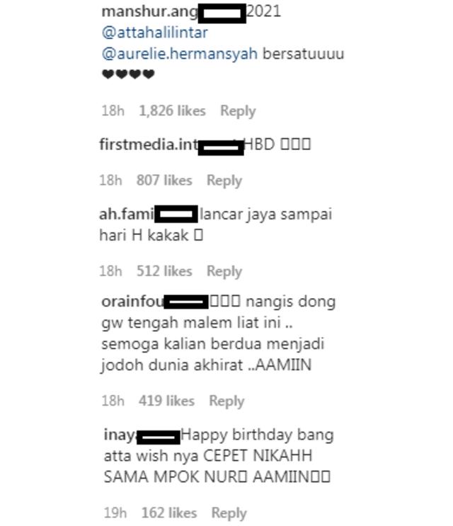 Aurel Rayakan Ultah Atta Halilintar, Netizen Doakan Lancar hingga Pelaminan (195572)