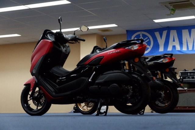 Foto: Lebih Dekat dengan All New Yamaha NMax Standar Versi Upgrade (658848)