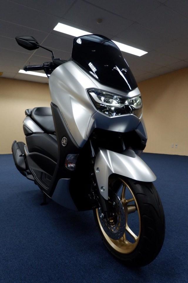 Foto: Lebih Dekat dengan All New Yamaha NMax Standar Versi Upgrade (658849)
