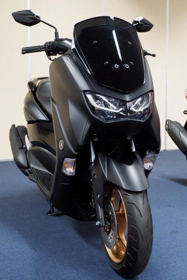 Foto: Lebih Dekat dengan All New Yamaha NMax Standar Versi Upgrade (658845)