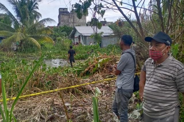 Polisi dan Warga Sisir Rawa Kejar Perampok Toko Emas di Aceh Barat (23738)