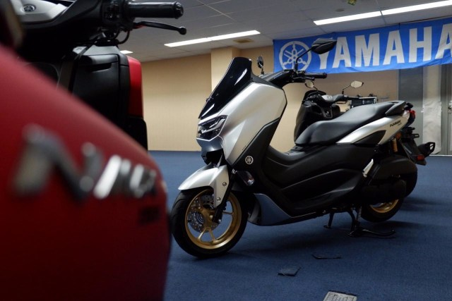 Harga dan Spesifikasi All New Yamaha NMax 155 Connected Standar Upgrade (9423)