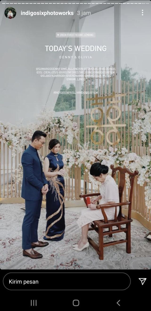 Beredar Foto Pernikahan Denny Sumargo Hari Ini, Netizen Heboh (654663)