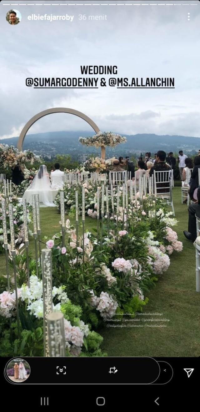 Beredar Foto Pernikahan Denny Sumargo Hari Ini, Netizen Heboh (654665)