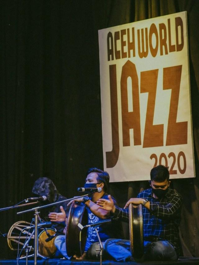 Foto: Penampilan Musisi dalam Aceh World Jazz 2020  (251599)