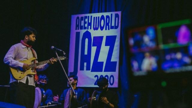 Foto: Penampilan Musisi dalam Aceh World Jazz 2020  (251605)