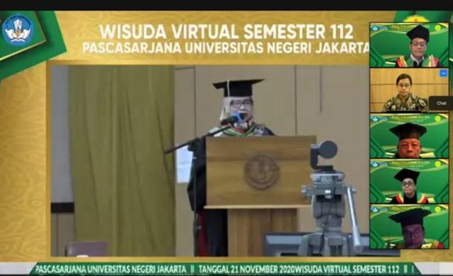 Menteri Keuangan RI di Wisuda UNJ, Indonesia Butuh SDM Berkarakter (130713)