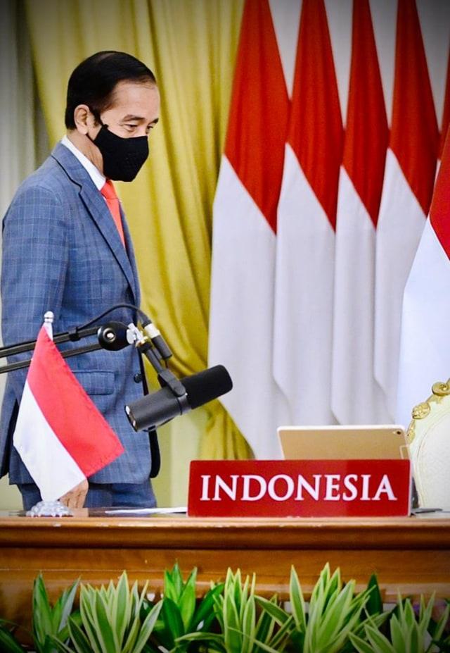 KTT G20, Jokowi Tekankan Vaksin COVID-19 Harus Dapat Diakses Semua Negara (288858)