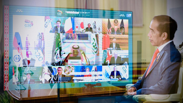 KTT G20, Jokowi Tekankan Vaksin COVID-19 Harus Dapat Diakses Semua Negara (288859)