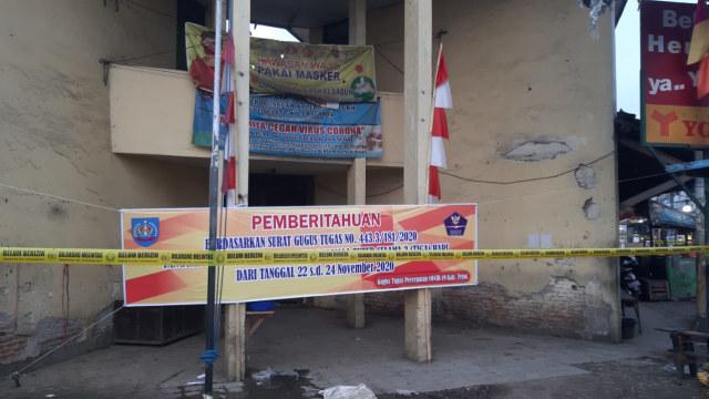 Usai 18 Orang Terpapar COVID-19, Pasar Balamoa Tegal Ditutup Selama 3 Hari (20238)