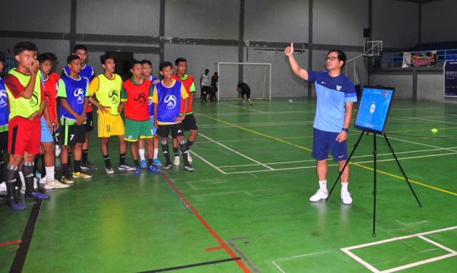 Persiapan Porprov VI, Beltim Gelar Seleksi Atlet Futsal (48335)