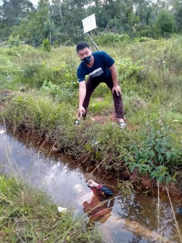 Warga di Bangka Temukan Jasad Manusia Didalam Drainase (23386)
