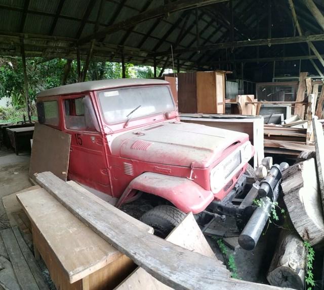 Jarang yang Tahu, Inilah 'Kuburan' Toyota Hardtop di Sumatera Utara (441600)