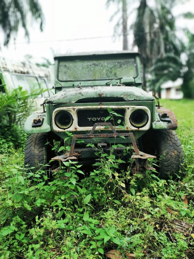 Jarang yang Tahu, Inilah 'Kuburan' Toyota Hardtop di Sumatera Utara (441599)