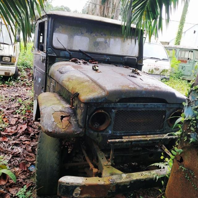 Jarang yang Tahu, Inilah 'Kuburan' Toyota Hardtop di Sumatera Utara (441602)