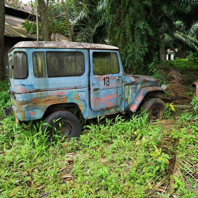 Jarang yang Tahu, Inilah 'Kuburan' Toyota Hardtop di Sumatera Utara (441606)