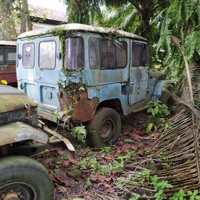Jarang yang Tahu, Inilah 'Kuburan' Toyota Hardtop di Sumatera Utara (441604)