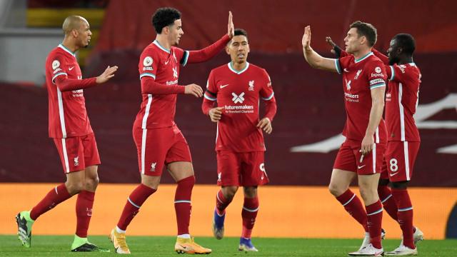 Liverpool vs Leicester: Menang 3-0, The Reds Tempel Spurs di Papan Klasemen (549357)