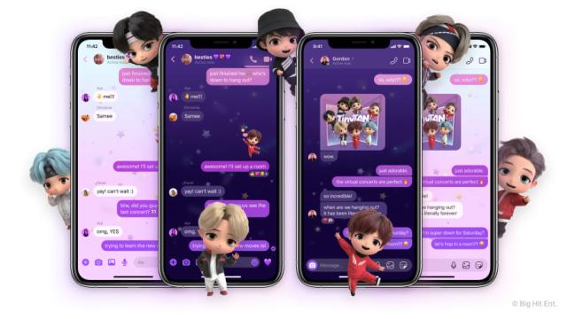 Facebook Messenger dan Instagram Punya Tema Khusus BTS, Begini Cara Pakainya (580139)