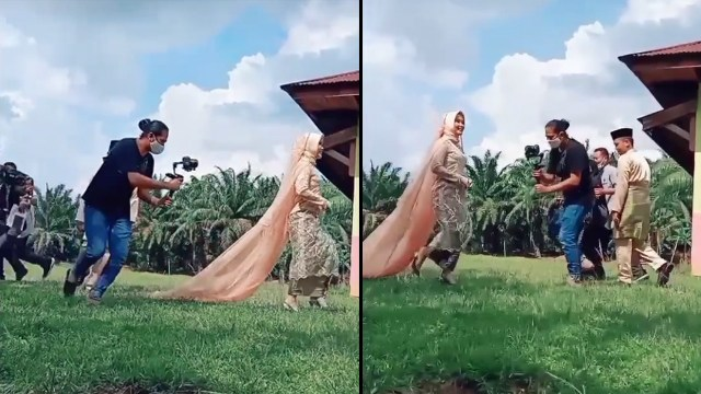 Viral Behind The Scene Video Prewedding, Totalitas sampai Bikin Warganet Kagum (13214)