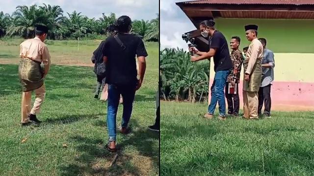 Viral Behind The Scene Video Prewedding, Totalitas sampai Bikin Warganet Kagum (13215)