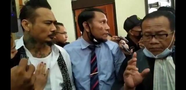 Jaksa dan Pengacara Kasus Jerinx Belum Putuskan Banding (6040)