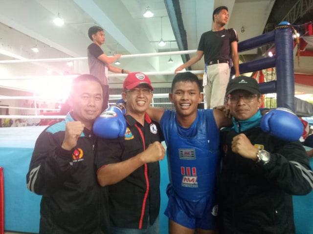 Persiapan Kejurnas 2020, Atlet Muay Thai Jambi Tetap Latihan di Tengah Pandemi (253394)