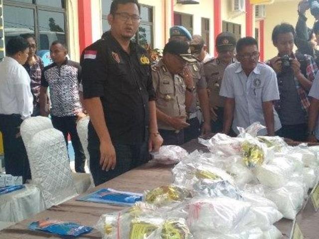 Hingga Oktober, Polres Bintan Tangani 27 Kasus Narkoba (45470)
