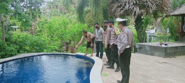 Ditinggal Kakak Buat TikTok, Seorang Bocah di Buleleng Tenggelam di Kolam Renang (588643)