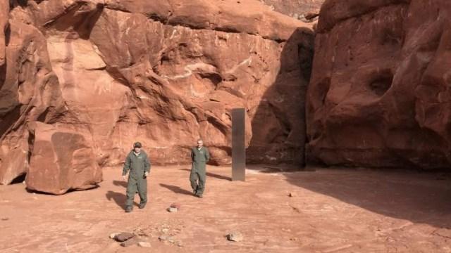 Setelah Utah dan Rumania, Monolit Misterius Ketiga Muncul di California  (243176)