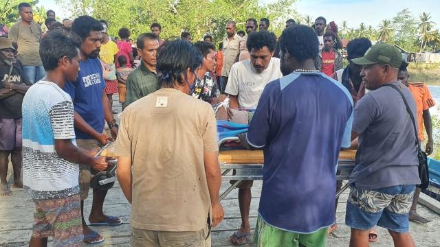 Polisi Merauke Selidiki Kematian ABK di Atas Kapal BBM (50622)