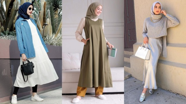 Ini 5 Cara Padu Padan Baju Tanpa Lengan untuk Kamu yang Berhijab (37111)