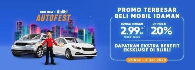 Mudah Beli Kendaraan dari Rumah Lewat KKB BCA X BLIBLI Autofest (1)