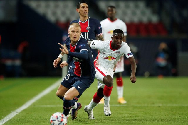 PSG vs RB Leipzig: Gol Penalti Neymar Bawa Les Parisiens Menang (75866)