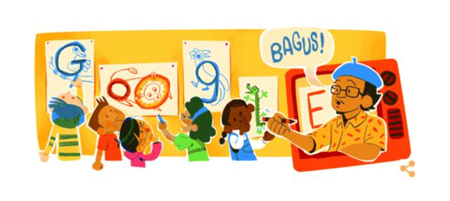 Siapa Tino Sidin yang Menjadi Google Doodle Hari Ini? (320001)