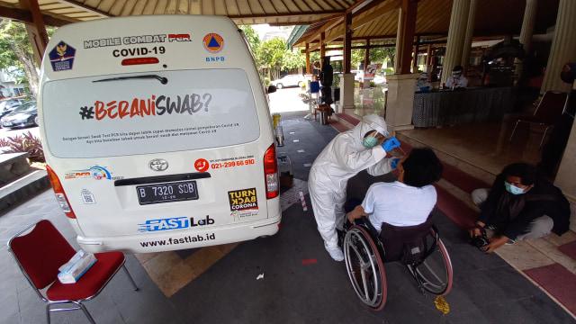 Puluhan Atlet dan Awak NPC Indonesia Jalani Tes Swab meskipun Negatif (106103)