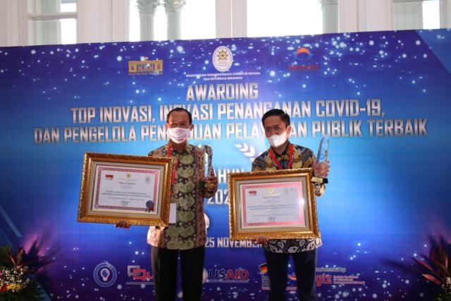 Pemkot Palembang Raih 2 Penghargaan Inovasi Layanan Publik (236839)